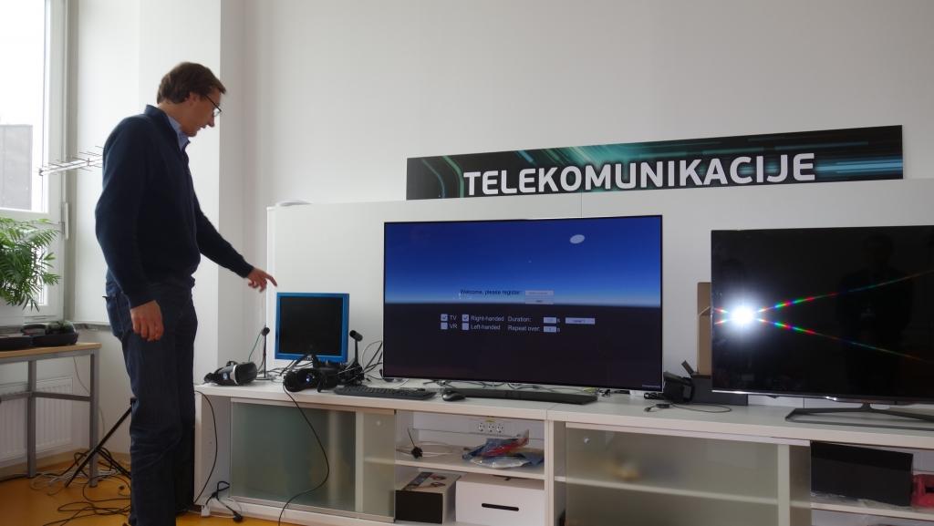Visit in the Telecommunications laboratory in University of Ljubljana